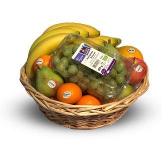 Ekologisk fruktkorg till jobbet